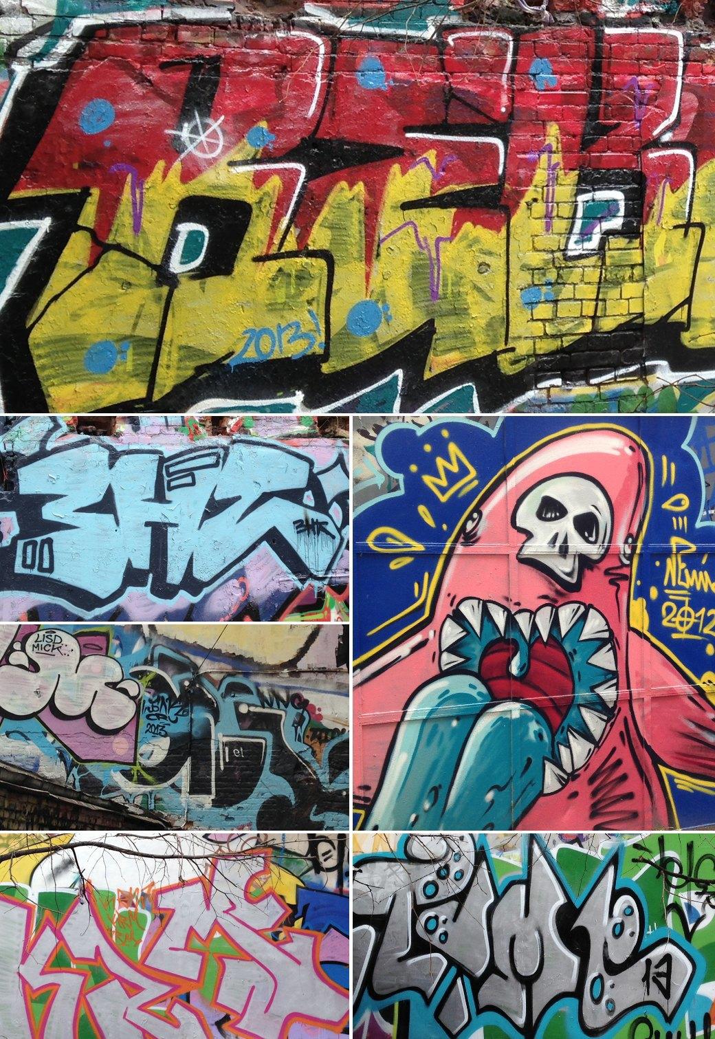 Стена славы: Граффити-карта Москвы. Изображение № 13.