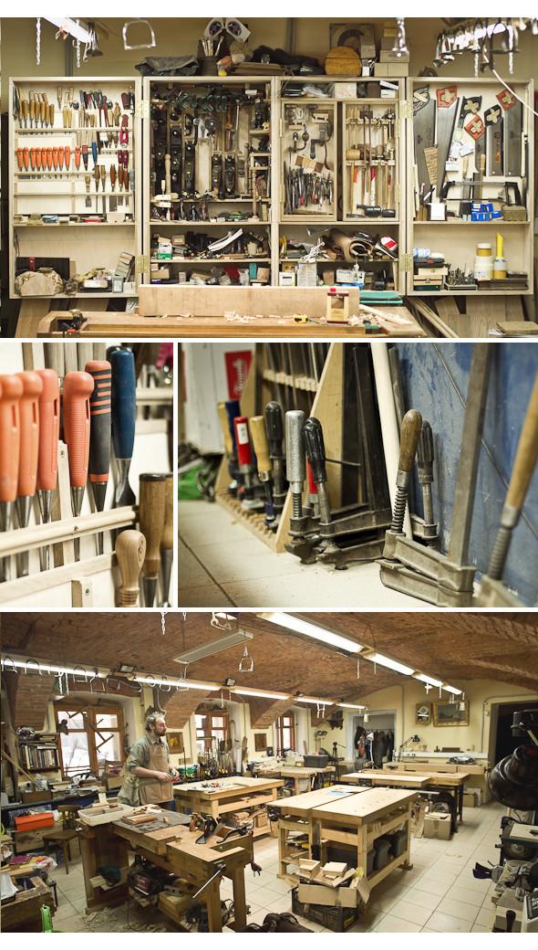 Изображение 18. Мужчины за работой: реставратор мебели.. Изображение № 7.