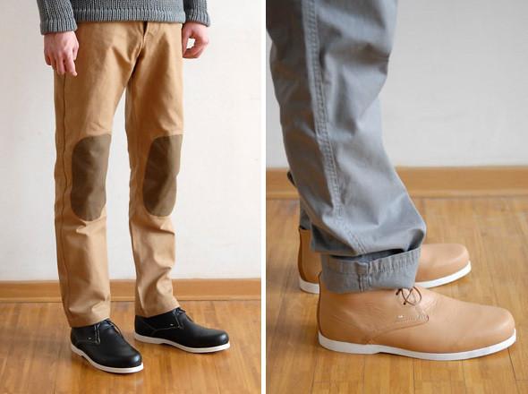 Frost Birgens, брюки Paul | Soulland, ботинки Issacsen  . Изображение № 14.
