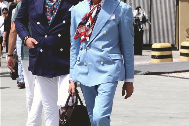 Детали: Репортаж с выставки мужской одежды Pitti Uomo. День второй. Изображение № 16.