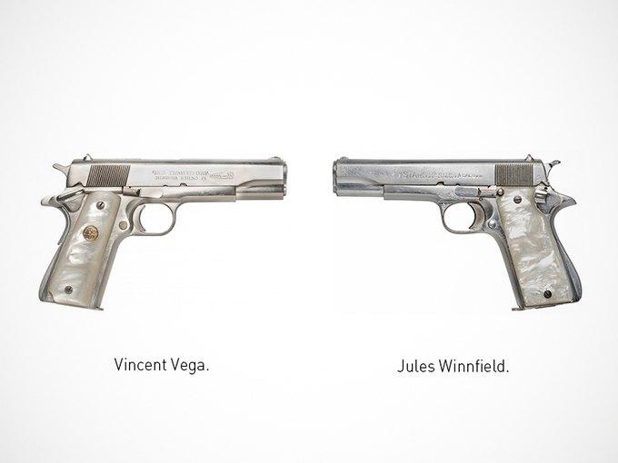 Итальянский дизайнер представил коллекцию плакатов знаменитого оружия. Изображение № 22.