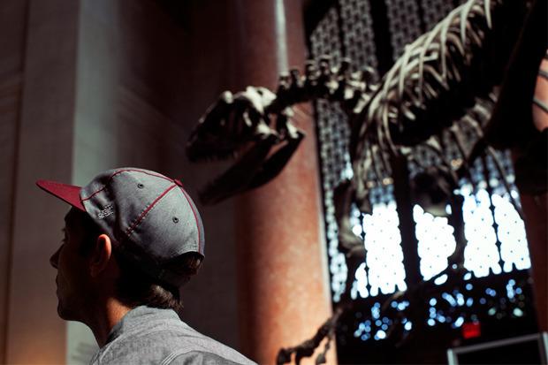 Марка Huf сняла второй осенний лукбук в Американском музее естественной истории. Изображение № 3.