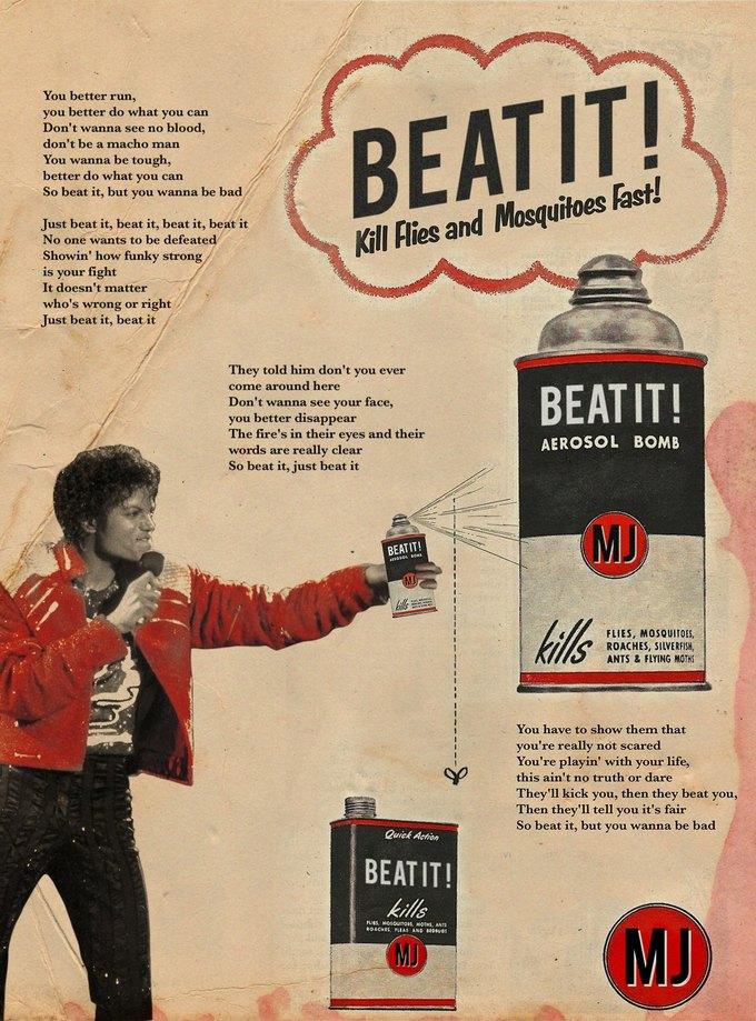 Ads Libitum: Звезды поп-культуры на винтажных рекламных плакатах. Изображение № 24.