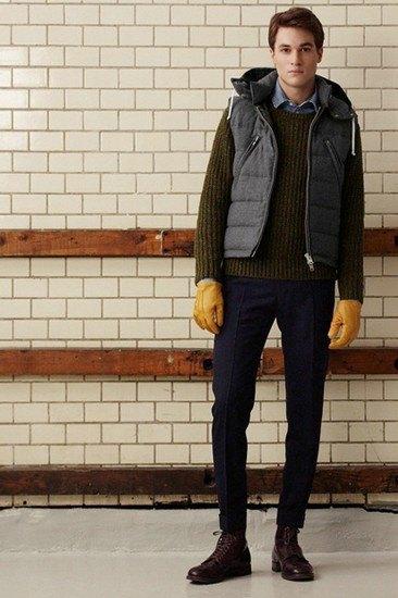 Марка Gant Rugger опубликовала лукбук осенней коллекции одежды. Изображение № 5.