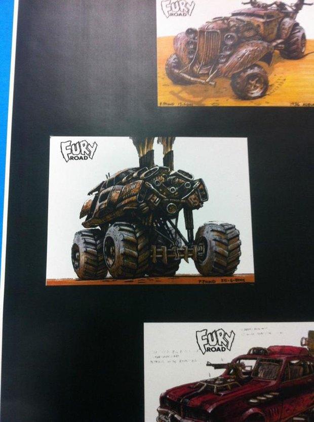 Опубликованы первые концепт-арты фильма «Безумный Макс: Дорога ярости». Изображение № 9.