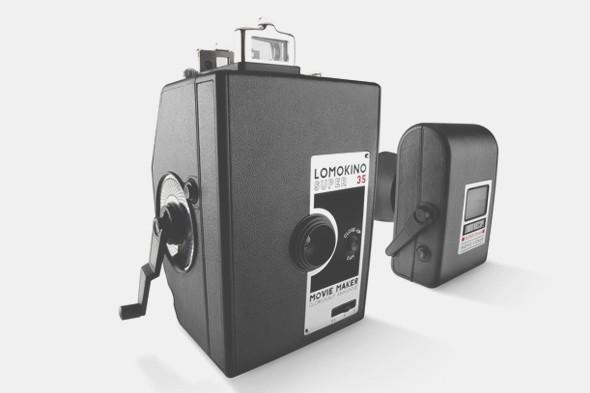 Сообщество Lomography выпустило видеокамеру Lomokino. Изображение № 1.