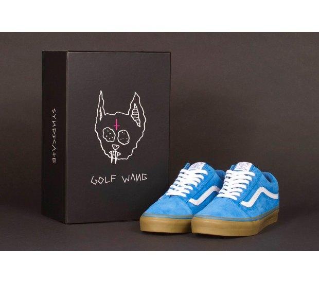Марка Vans и хип-хоп-группировка Odd Future выпустили совместную коллекцию обуви. Изображение № 11.