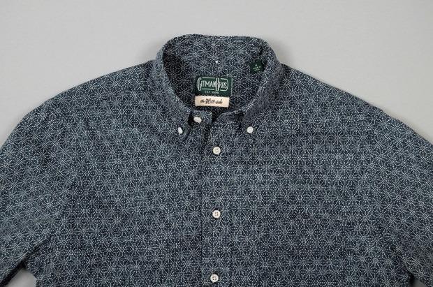 Марка Gitman Bros. представила новую коллекцию рубашек своей линейки Holiday. Изображение № 19.