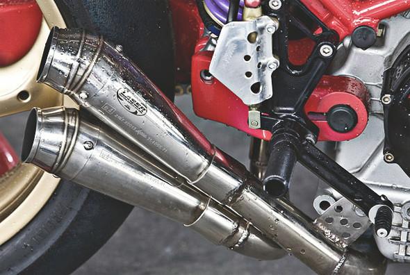 Создатели нашумевшего каферейсера Ducati 9 1/2 выставили свой мотоцикл на продажу. Изображение № 3.