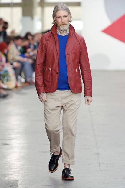 Марка Oliver Spencer выпустила летнюю коллекцию одежды. Изображение № 6.