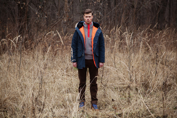 Магазин FOTT представил лукбук коллекции курток, выпущенных совместно с маркой Spiewak. Изображение № 3.
