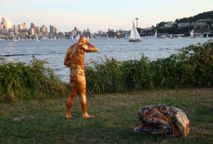 Уличные скульптуры, созданные неизвестными. Изображение № 3.