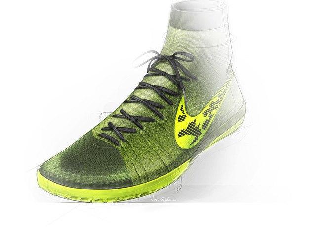 Nike представила новую версию бутс Elastico Superfly на текстильной основе. Изображение № 9.