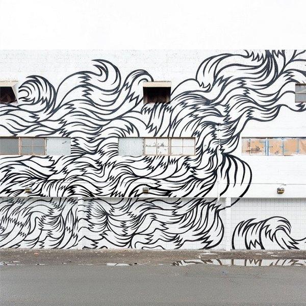 Гавайский фестиваль граффити Pow! Wow! в Instagram-фотографиях участников. Изображение № 6.