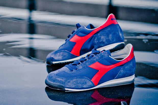 Итальянская марка Diadora выпустила весеннюю коллекцию кроссовок. Изображение № 4.