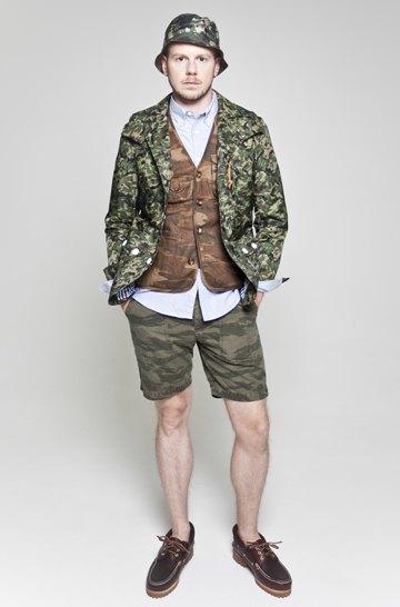 Японская марка Creep выпустила лукбук весенней коллекции одежды. Изображение № 16.