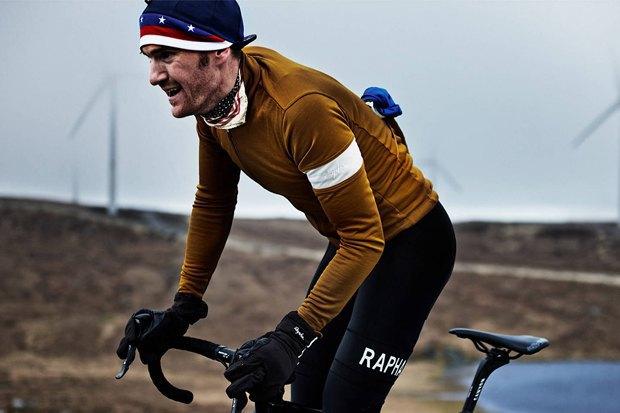 Велосипедная марка Rapha опубликовала осенне-зимний лукбук. Изображение № 14.