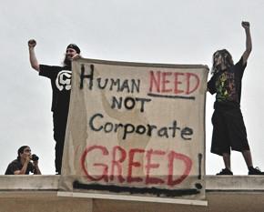 «Людские потребности, а не алчность корпораций». Изображение № 16.