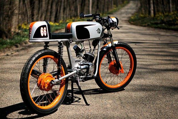 Американская мастерская Analog Motorcycles представила кастомный мотоцикл Riverside Racer. Изображение № 8.