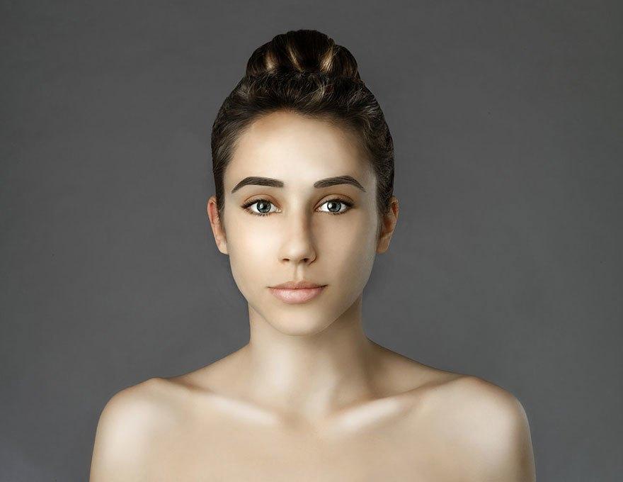 Как отличаются стандарты женской красоты в разных странах . Изображение № 6.
