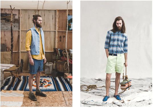 Французская марка Hixsept выпустила лукбук весенней коллекции одежды. Изображение № 5.