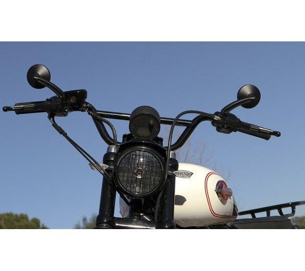 Мастерская Burly Brand представила скрэмблер на основе Harley-Davidson Sportster. Изображение № 10.