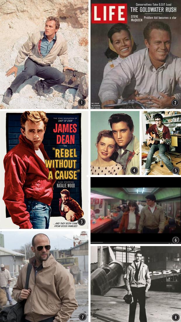 Харрингтоны и G9 Baracuta: Легкие куртки, которые любили Джеймс Дин, Стив Маккуин и Синатра. Изображение № 2.