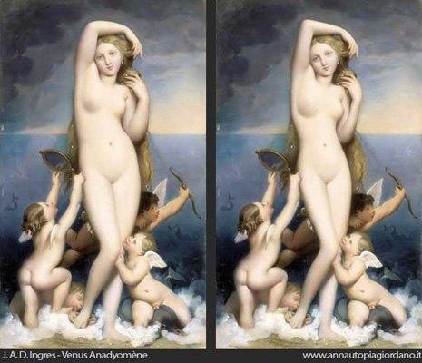 Венера как супермодель: Итальянка примеряет современные стандарты красоты на богиню любви. Изображение № 8.