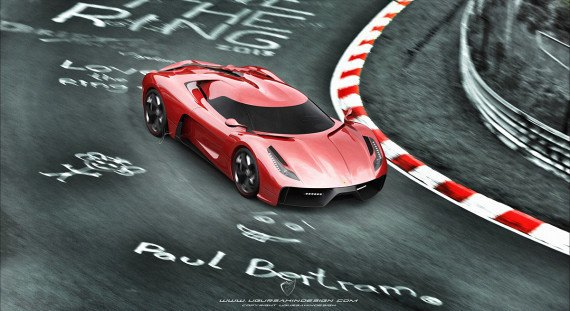 Представлен новый концепт суперкара на базе Ferrari 458 Italia. Изображение № 11.
