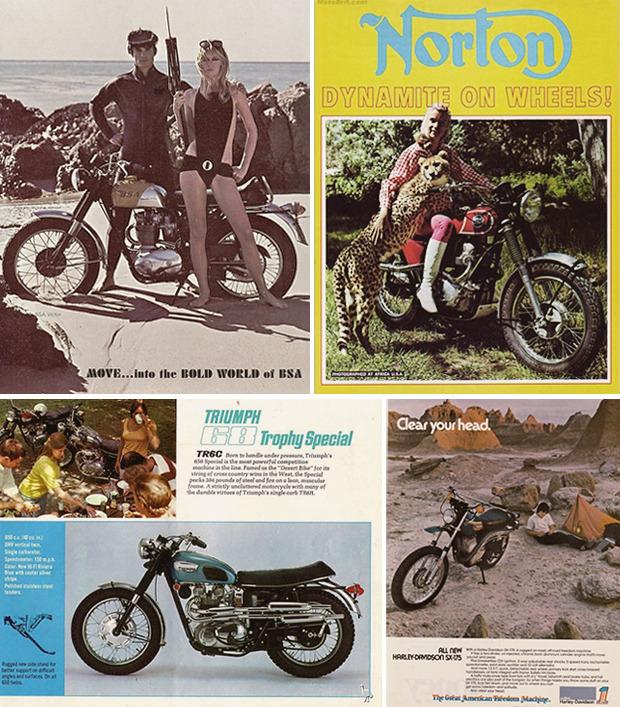 История и стилевые особенности эндуро и скрэмблеров — мотоциклов для езды по бездорожью. Изображение №3.