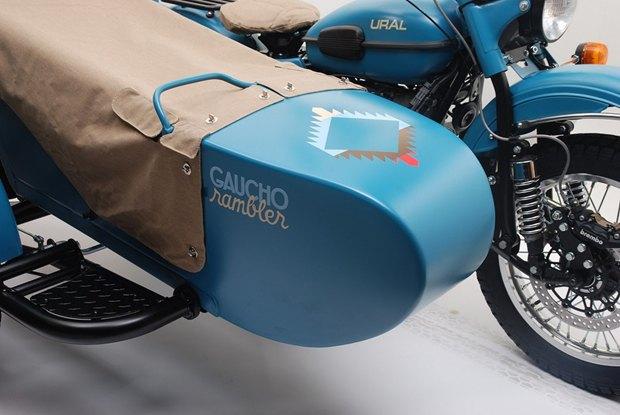 Российская марка «Урал» и бренд Pendleton собрали совместную модель мотоцикла. Изображение № 8.