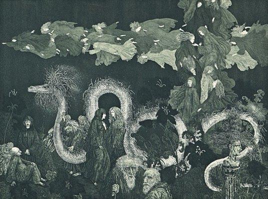 5 русских художников, оформляющих обложки альбомов экстремального метала. Изображение № 28.