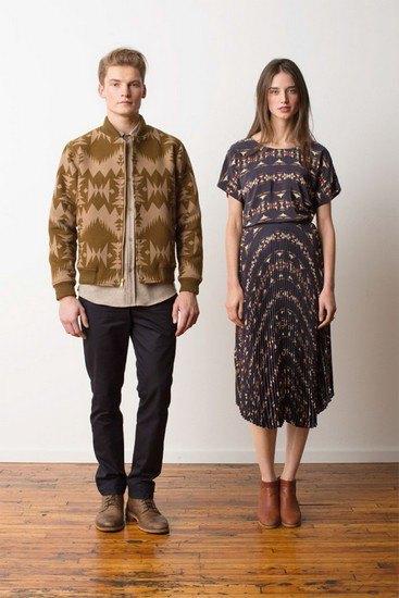 Марка Pendleton выпустила лукбук осенней коллекции одежды. Изображение № 5.