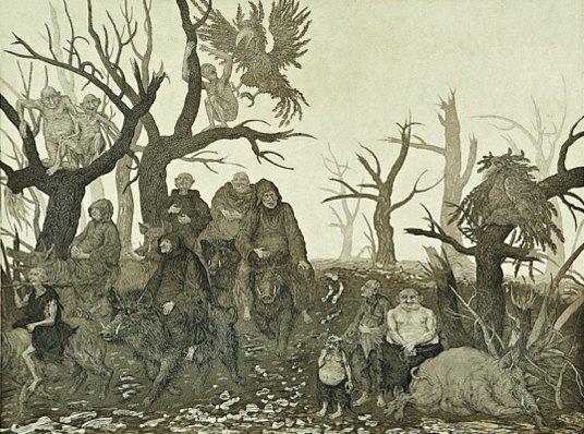 5 русских художников, оформляющих обложки альбомов экстремального метала. Изображение № 24.