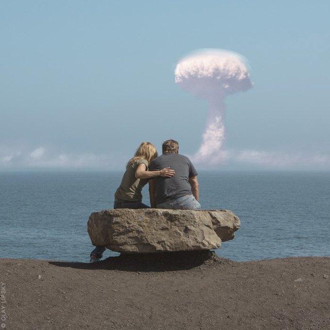 Atomic Overlook: Атомный взрыв как туристический объект на фото Клэя Липски. Изображение № 14.