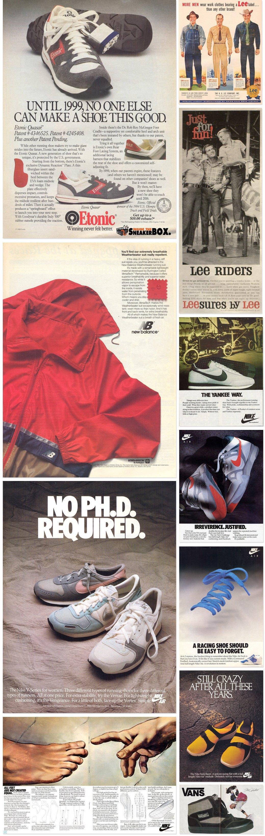 Назад в будущее: Винтажные рекламные плакаты современных марок одежды. Изображение № 3.