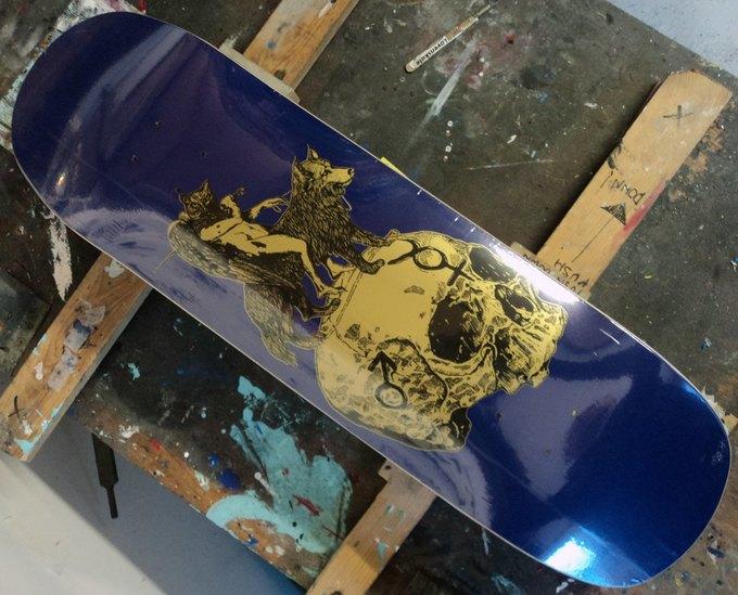9 скейтбордов с принтами, выпущенных в 2013 году. Изображение № 2.