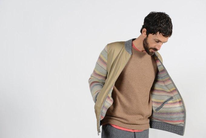 Шотландская марка Folk опубликовала лукбук осенней коллекции одежды. Изображение № 7.