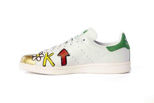 Adidas выпустит коллекцию кроссовок Stan Smith, вручную разрисованных Фарреллом. Изображение № 14.