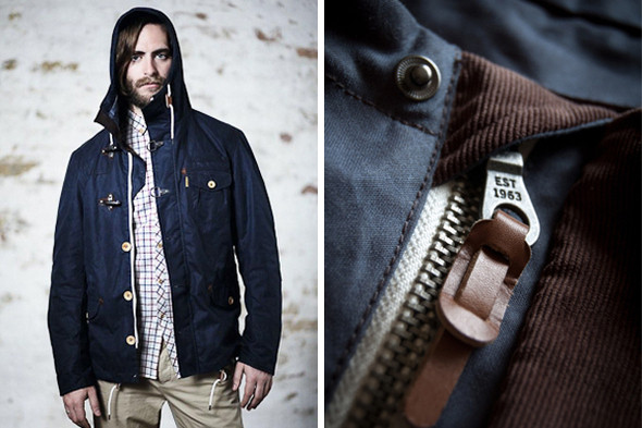 Куртка Ben Sherman с вельветовыми деталямит. Изображение № 30.