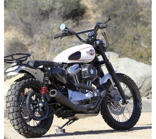 Мастерская Burly Brand представила скрэмблер на основе Harley-Davidson Sportster. Изображение № 5.
