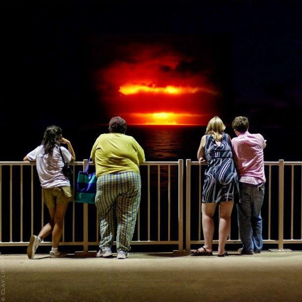 Atomic Overlook: Атомный взрыв как туристический объект на фото Клэя Липски. Изображение № 5.