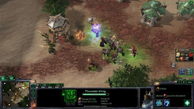 Геймер создал игру Warcraft IV на движке StarCraft II . Изображение № 1.
