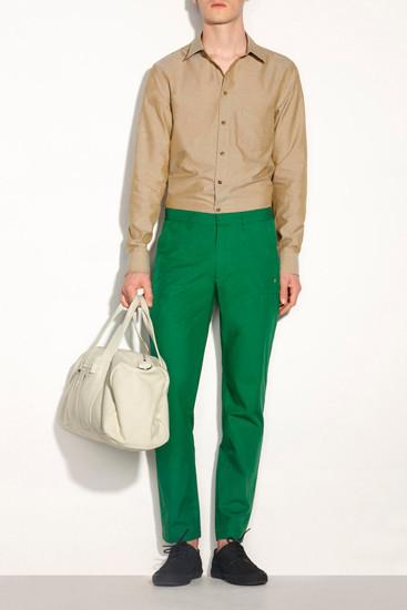 Марка A.P.C. опубликовала лукбук новой коллекции одежды. Изображение № 1.