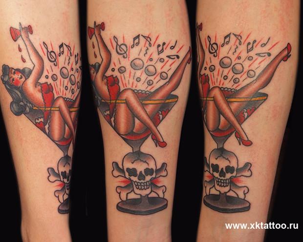 Хруст костей: Интервью с татуировщиком Дмитрием Речным. Изображение № 6.