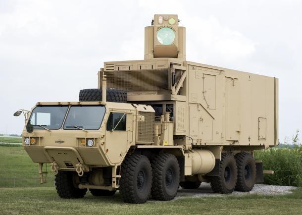 Американцы проводят испытания мобильной лазерной пушки HEL MD. Изображение № 1.