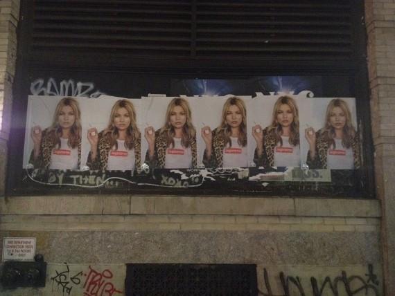 Кейт Мосс снялась в рекламной кампании Supreme. Изображение № 7.
