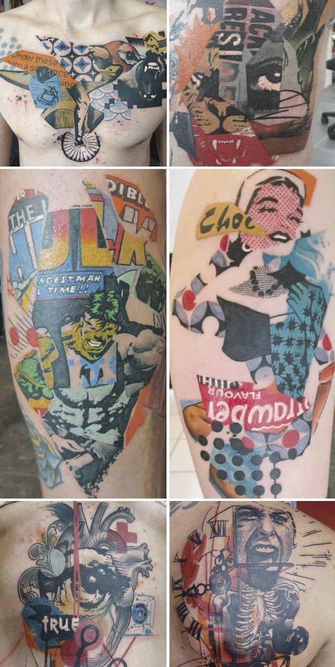 Путеводитель по самому спорному и одновременно художественному жанру татуировок — ар-брюту. Изображение № 19.