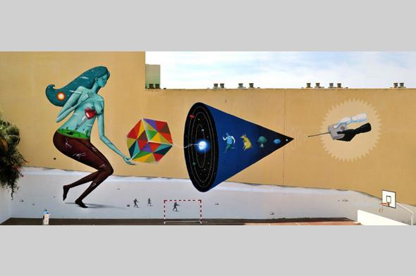 Скетчбук: Участники граффити-дуэта из Киева Interesni Kazki рассказывают о своих лучших работах. Изображение № 26.