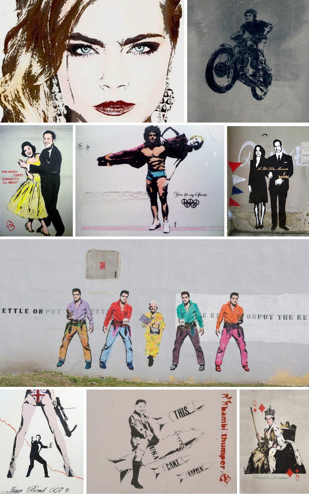 Уличная художница Бэмби: Что мы знаем о «Бэнкси в юбке». Изображение № 1.